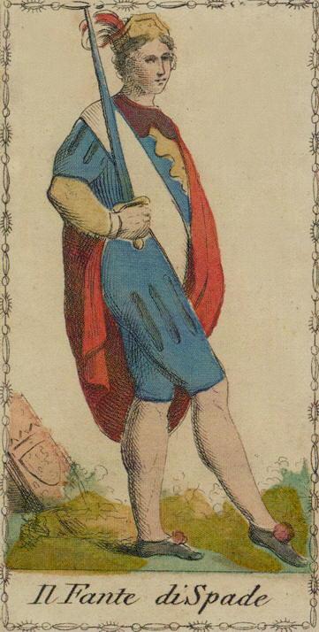 Ancient Tarot of Lombardy