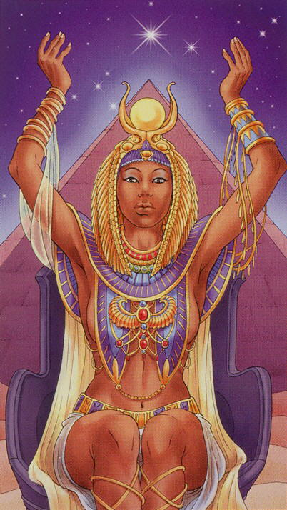 Universal Goddess Tarot 02 The High Priestess | The Unified