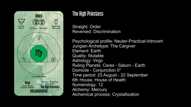 The High Priestess | The Unified Esoteric Tarot