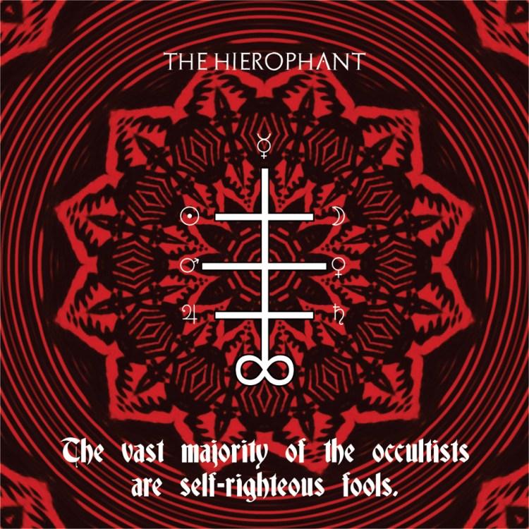 Tarot of Cyclicity The Hierophant