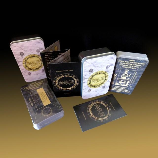 Golden Hermetic aka Papus in a tin box