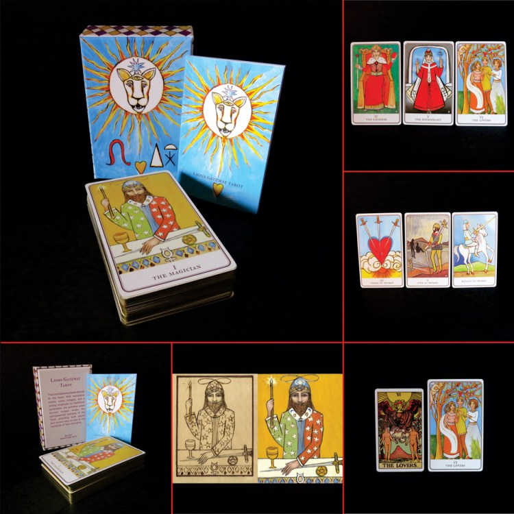 Lions Gateway Tarot by Jessica Leigh Henry