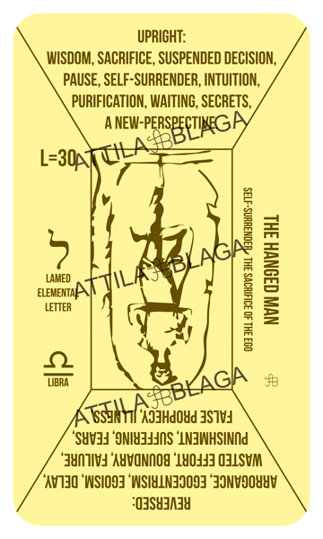 Traditional Divinatory Tarot, The Hanged Man