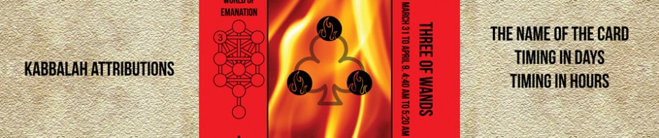 Traditional Divinatory Tarot, Three of Wands