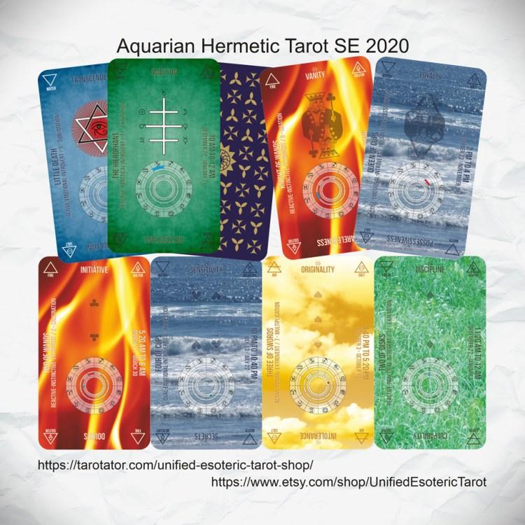 Aqurian Hermetic Tarot SE