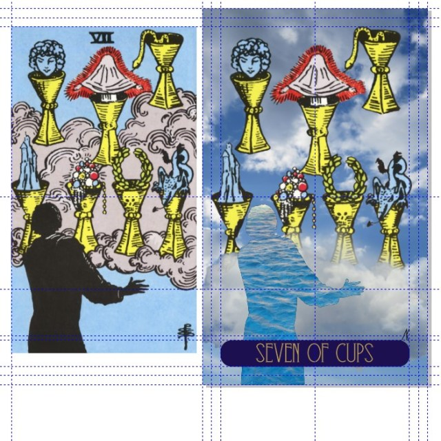 27 Seven of Cups [work in progress]