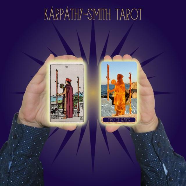 Karpathy-Smith Tarot Two of Wands