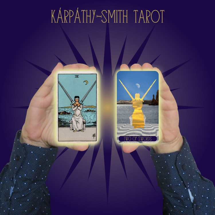 Karpathy-Smith Tarot Two of Swords