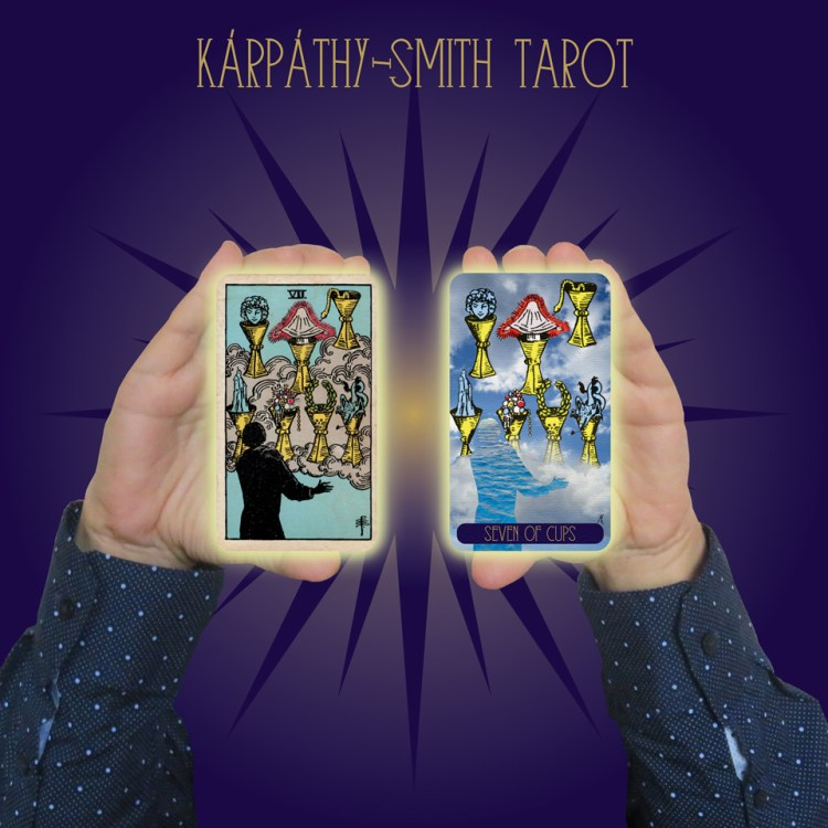 Karpathy-Smith Tarot Seven of Cups