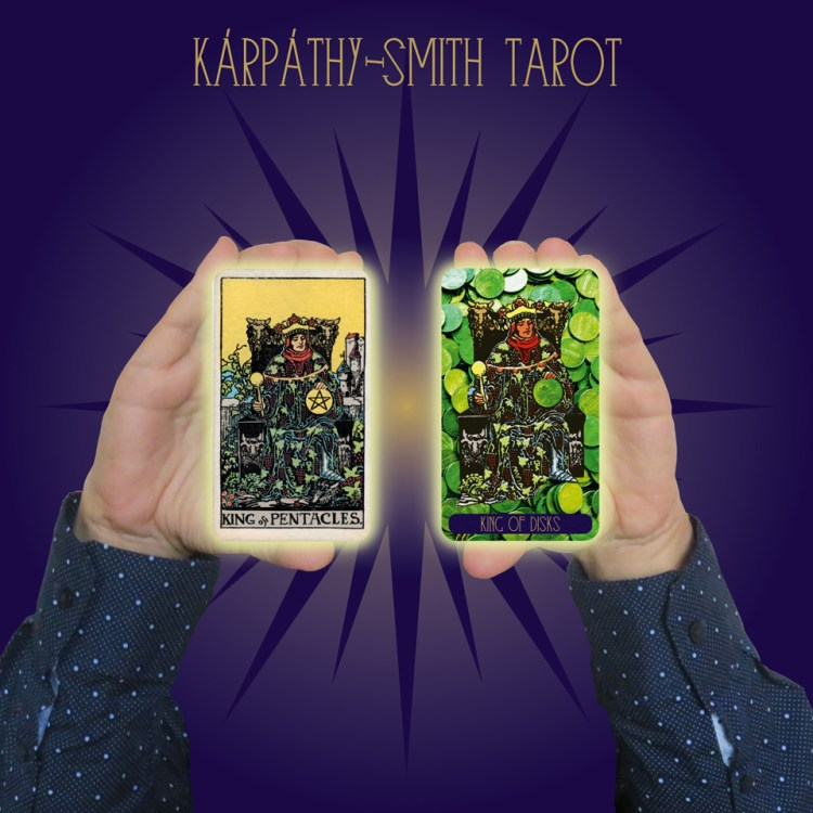 Karpathy-Smith Tarot King of Disks