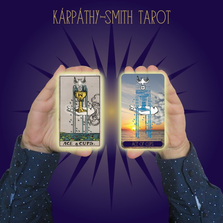 Karpathy-Smith Tarot Ace of Cups
