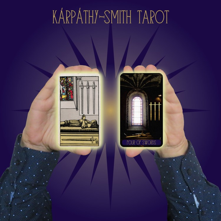 Karpathy-Smith Tarot Four of Swords