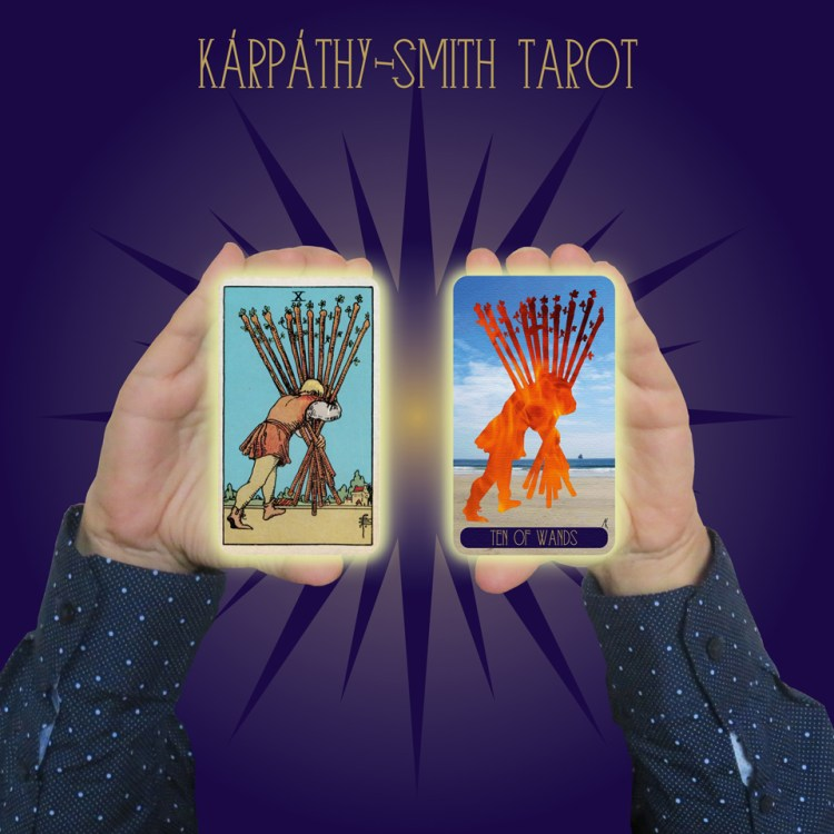 Karpathy-Smith Tarot Ten of Wands