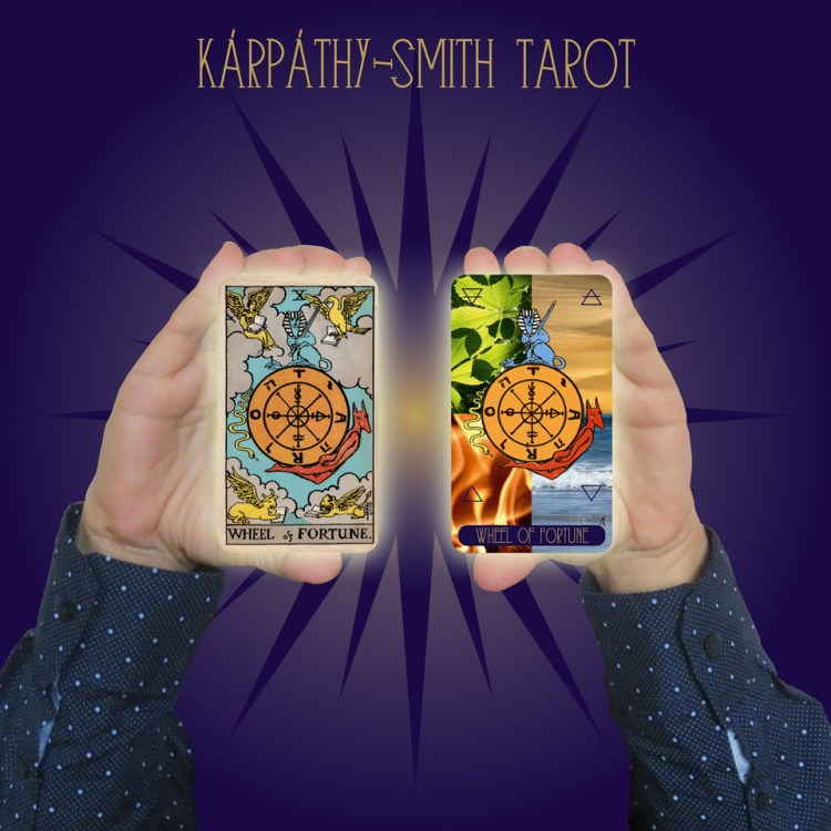 Karpathy-Smith Tarot Wheel of Fortune