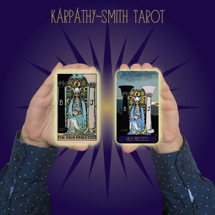 Karpathy-Smith Tarot High Priestess