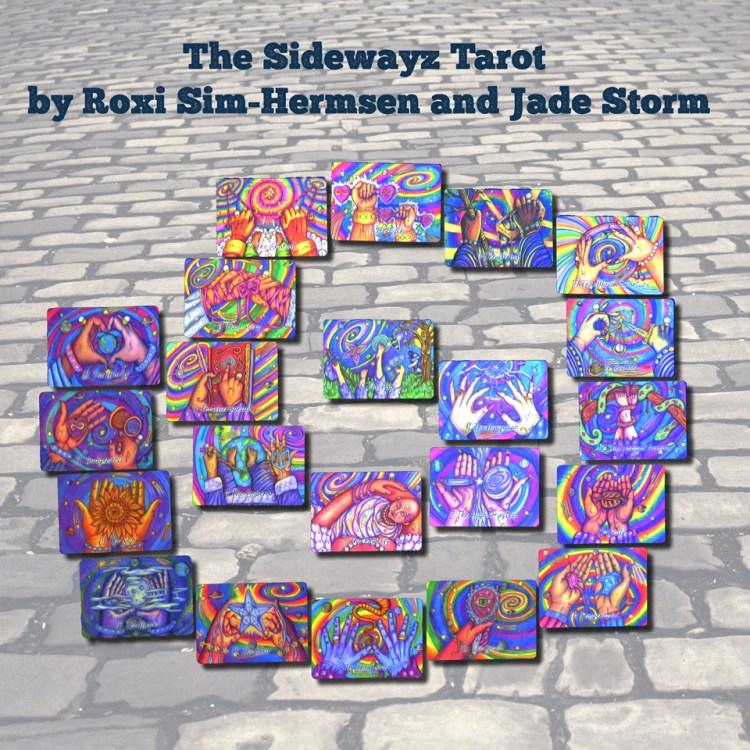The Sidewayz Tarot by Roxi Sim-Hermsen and Jade Storm