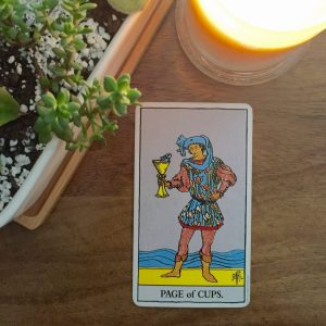Page Of Cups - Rider Waite