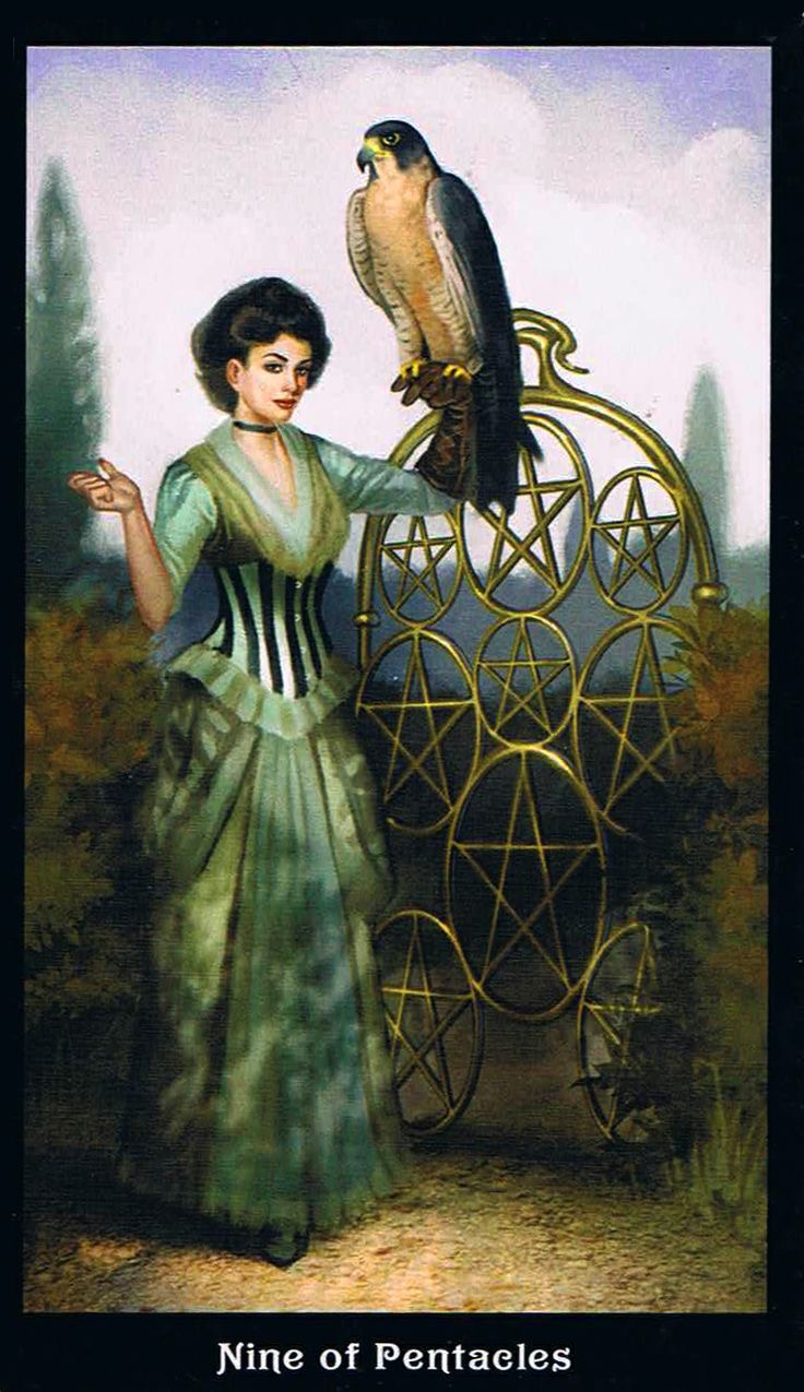 Card of the Day – 9 of Pentacles – Thursday, October 26