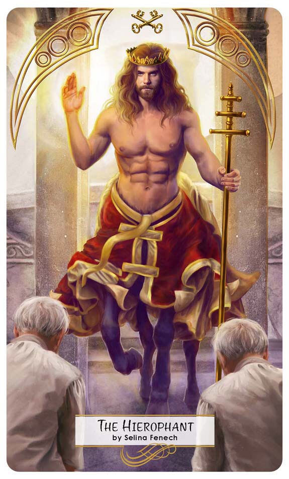 Featured Card of the Day – The Hierophant – 78 Tarot