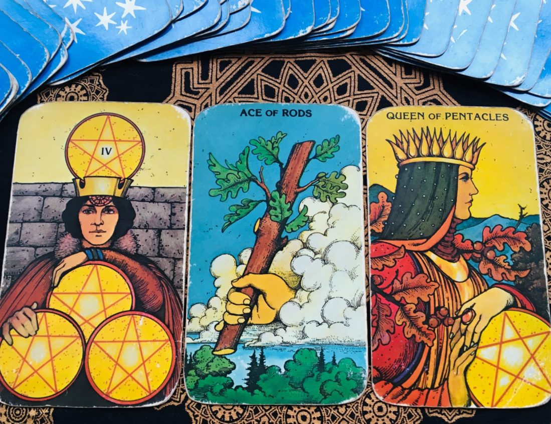 daily tarot reading spring and personal growth