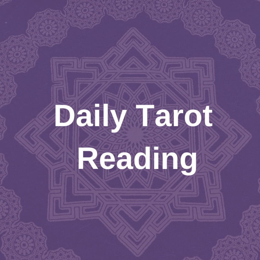 Daily tarot reading