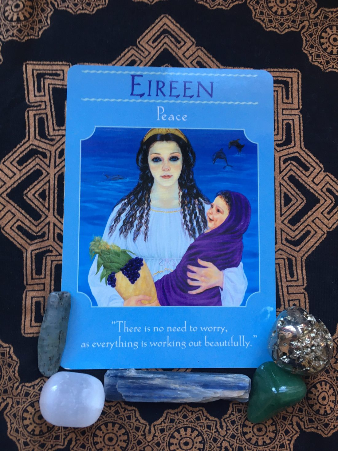 trust in goodness, Tarot card of the week, February 15th, 2021