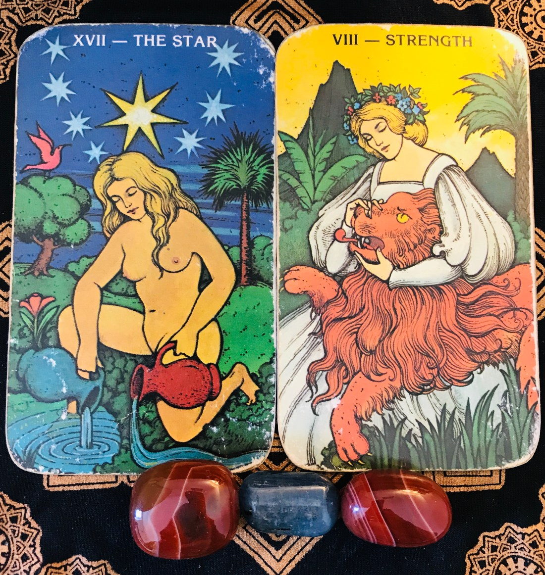 How can I be brave tarot cards. Strength and The Star, both feminine energies are encouraging us to be ourselves this week.