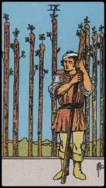 9 of wands - August 2014 Forecast