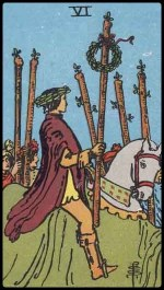 6 of wands - November 2014 Forecast
