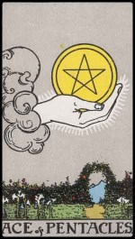 ace of pentacles - November 2014 Forecast
