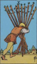 10 of wands - January 2015 Forecast