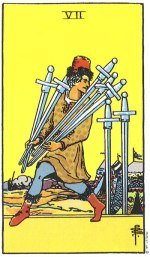 7 of swords - May 2015 Tarotscope