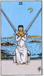 2 of swords - June 2015 Tarotscope