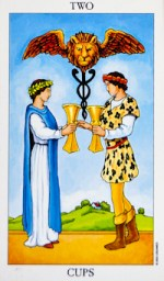 2 of cups - July 2015 Tarotscope