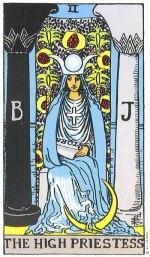 the high priestess - December 2015 Tarotscope