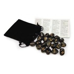 Black Agate Runes