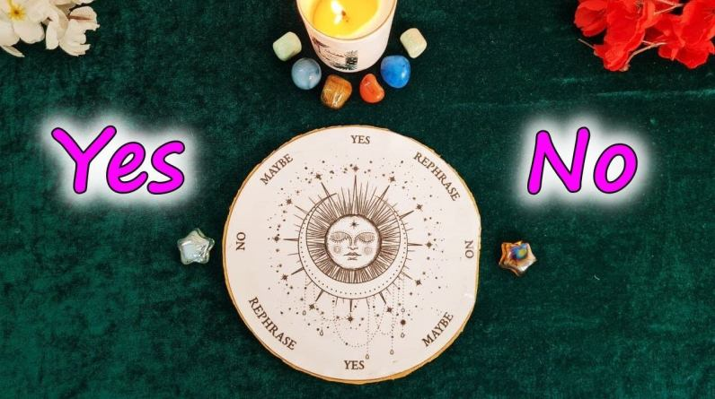 YES✅ or NO❌? ASK ANY QUESTION ~ Pick A Card~ ☯ PENDULUM READING ☯ ✨Tarot Reading✨ Timeless