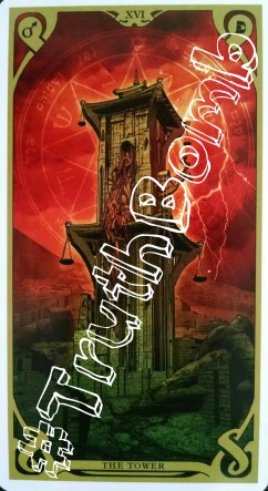 The Tower / Night Sun Tarot