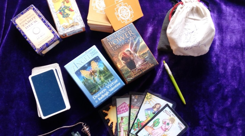 Choose a tarot deck