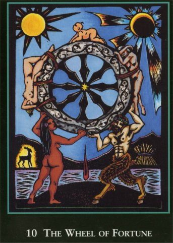 Wheel of Fortune - Tarot by Arwan