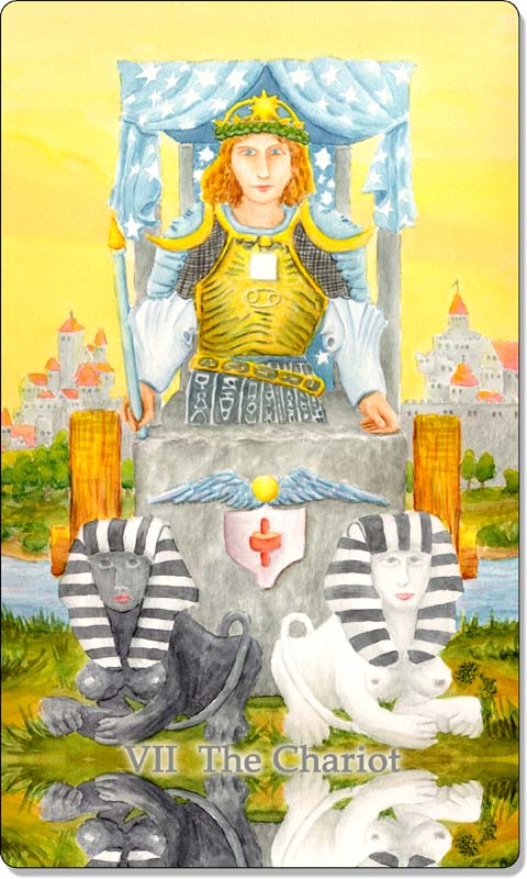 Image of The Chariot card