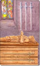 Image of The Four of Swords card