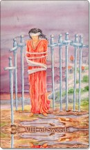 Image of The Eight of Swords card
