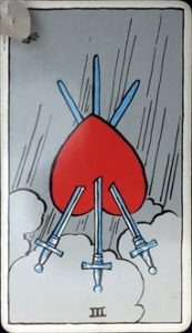 Three of Swords reverse