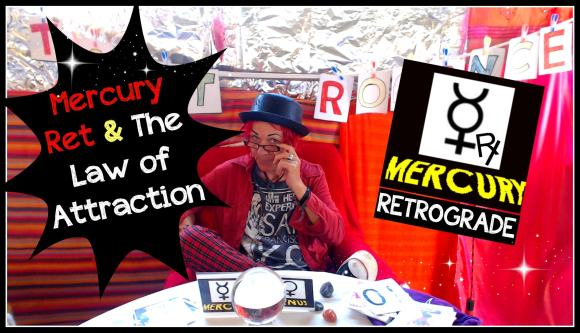 Mercury Retrograde & The Law of Attraction. How Astrology fits in with The Law of Attraction and what to do about it! Tarot Romance. #love #mercury #lawofattraction #abrahamhicks #planets #astrology #tarot