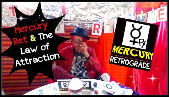 The Law of Attraction & Mercury Retrograde * Tarot Romance