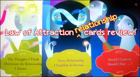 Law of Attraction relationship cards review
