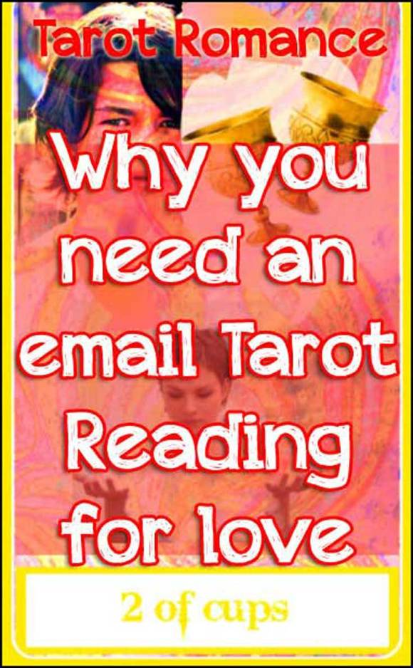 5 Reasons you need an Email Tarot Reading for Love today! Tarot Romance #love #tarot #tarotreading #tarotcards #astrology #2ofCups