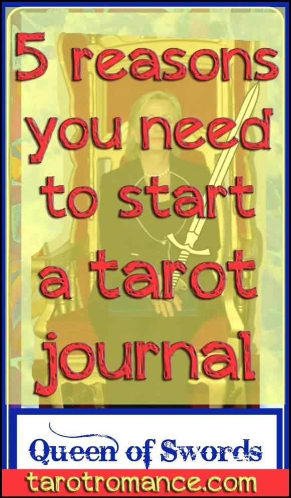 5 Reasons You Need to Start a Tarot Journal #tarotjournal #tarotromance