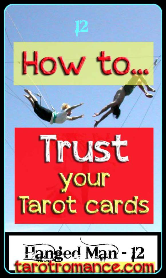 How to let go and trust your tarot cards